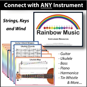 Rainbow Music - Connect with any Instrument