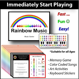 Rainbow Music - Immediately Start Playing