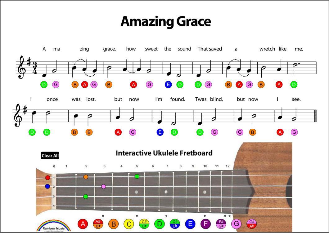 4 basic chords, 30 songs on ukulele - YouTube