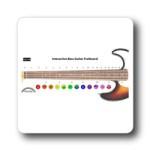Rainbow Music Interactive Bass Guitar Fret