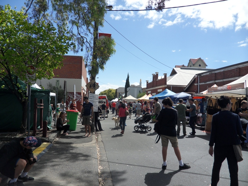 Yarraville Arts Festival - Back Street Stalls