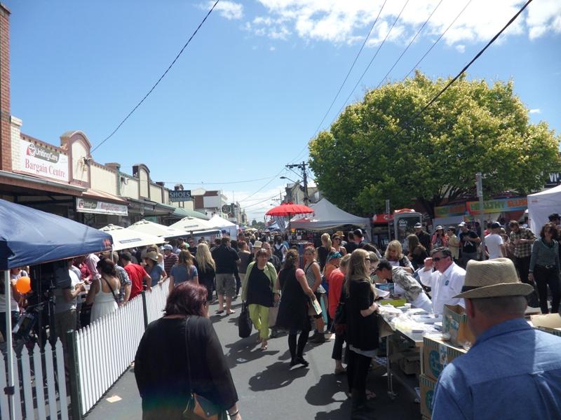Yarraville Arts Festival - Main Street