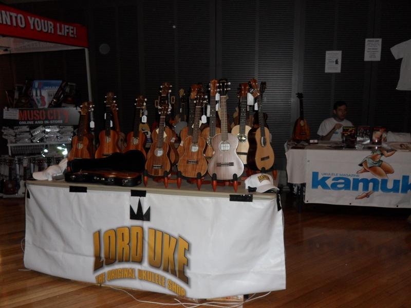 Melbourne Ukulele Festival - Rainbow Music - Market Hall- Lord Uke