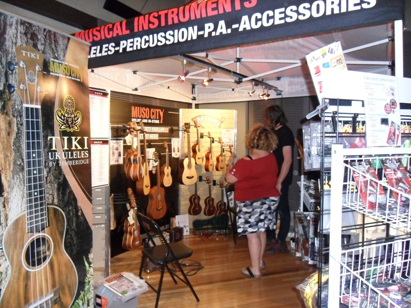 Melbourne Ukulele Festival - Rainbow Music - Market Hall - Muso City