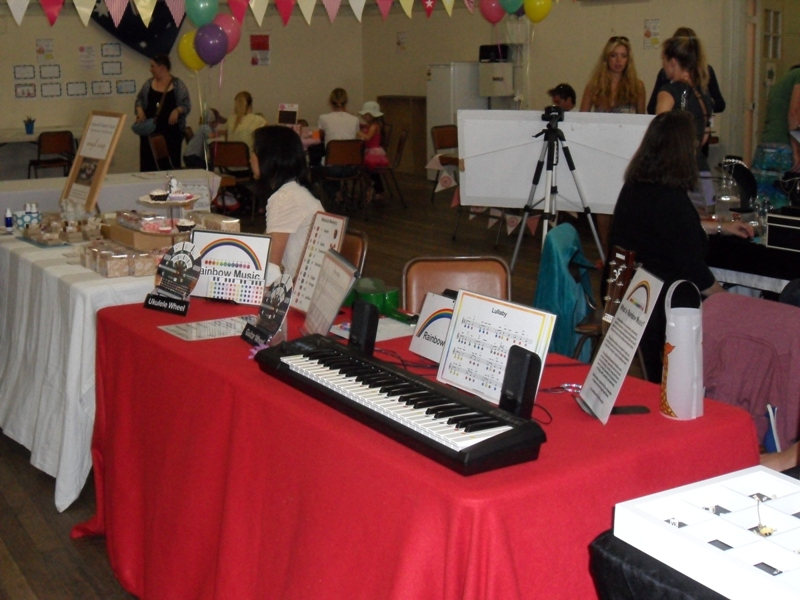 Rainbow Music - Stall - Yarraville Arts Festival