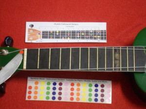 Ukulele Stickers - Start with the Open Strings