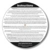 Guitar Wheel - Rear Instructions
