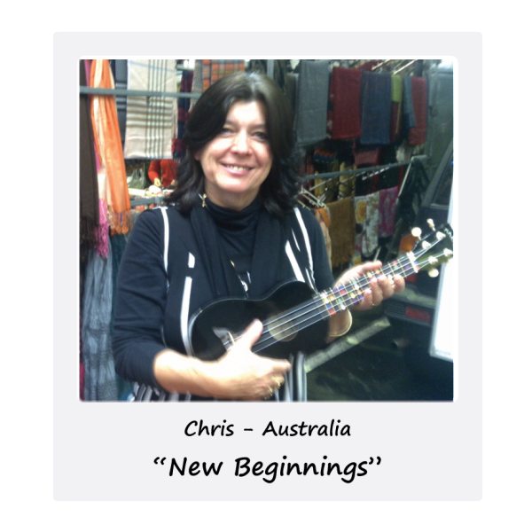 Ukulele Wheel - Chris - Australia