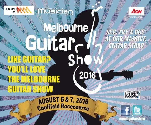 Melbourne Guitar Show 2016 - General